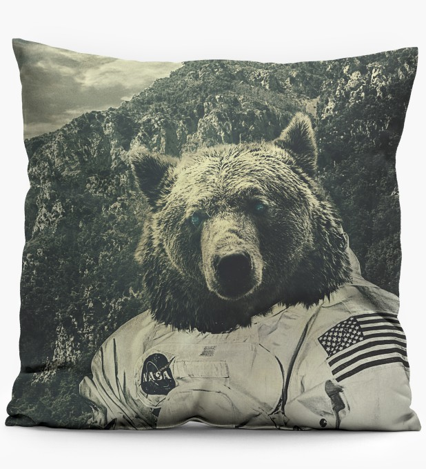 NASA Bear pillow Miniatura 1