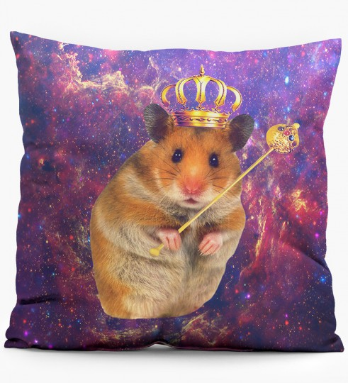 King Hamster pillow Miniature 1