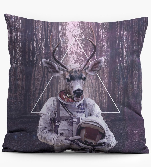 Astrodeer pillow Miniature 1