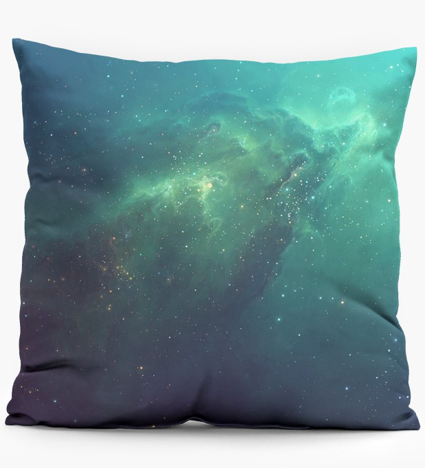 Blue Nebula pillow Miniature 1