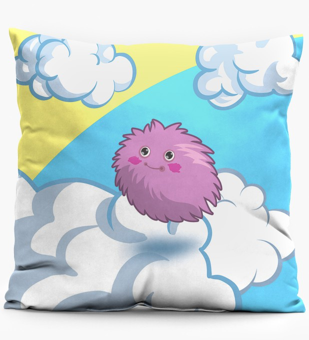 Ball of Fur pillow Miniature 1