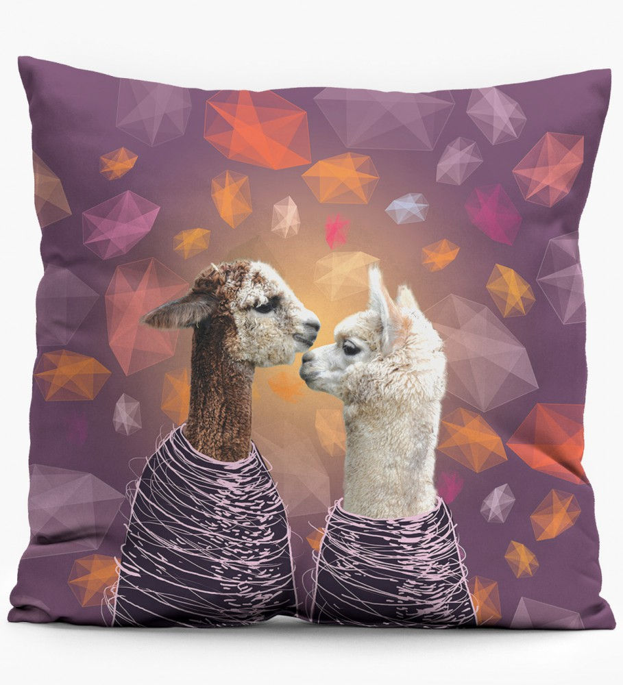 Mr. Gugu & Miss Go, Couple pillow Image $i