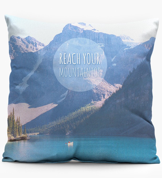 Mountain pillow Miniature 1