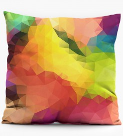 Colorful Geometric Pattern pillow Miniature 1