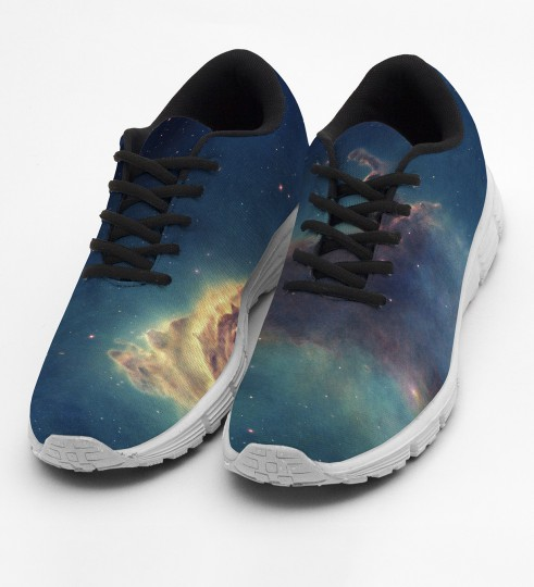 I live in my own galaxy chaussures Miniature 2