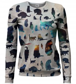 Galaxy Cats sweater Miniature 1