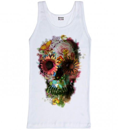 Flower Garden tank-top Miniature 1