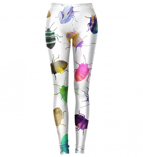 Colorful Cockroaches leggings Thumbnail 1
