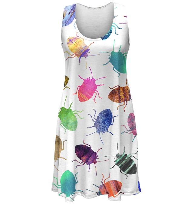Colorful Cockroaches minidress аватар 1