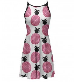 Pink pineapple sundress Miniature 1