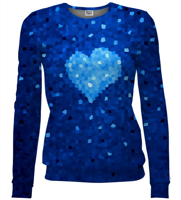 Glass Heart sweater Miniature 1