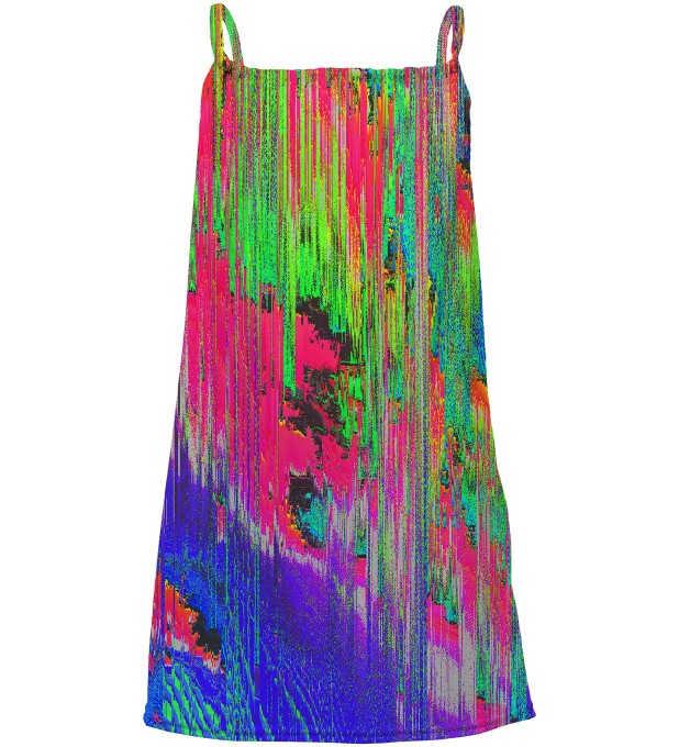 Drying Paint sleeveless dress for kids Thumbnail 1