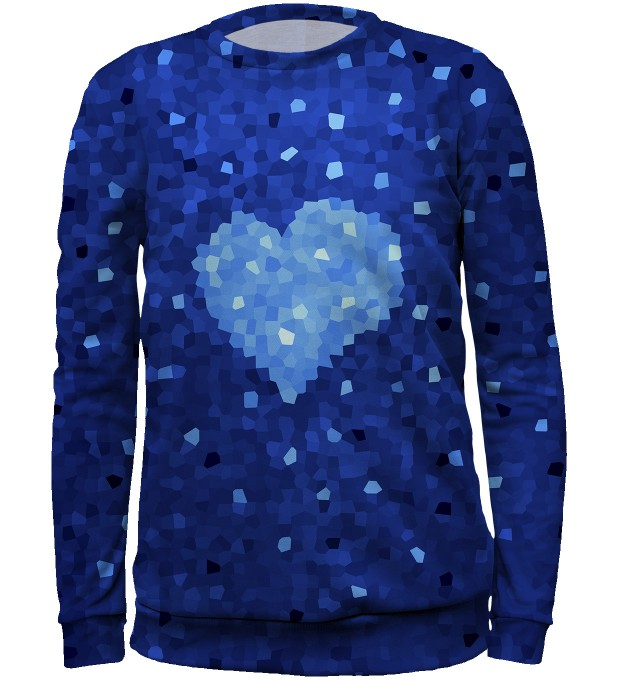 Glass Heart sweater for kids аватар 1