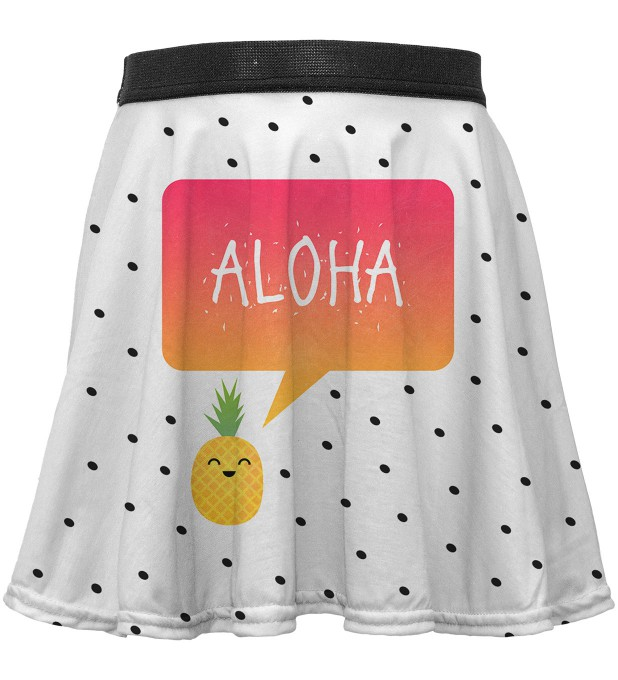 Aloha circle skirt for kids Thumbnail 1