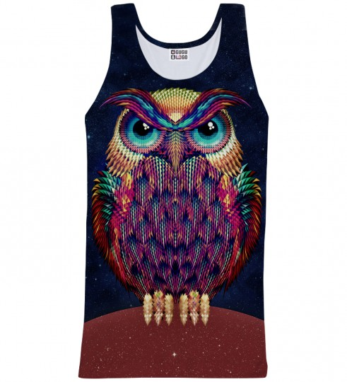 Space Owl tank-top Miniatura 1