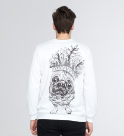 Mr. Gugu & Miss Go, King Pug sweater Thumbnail $i