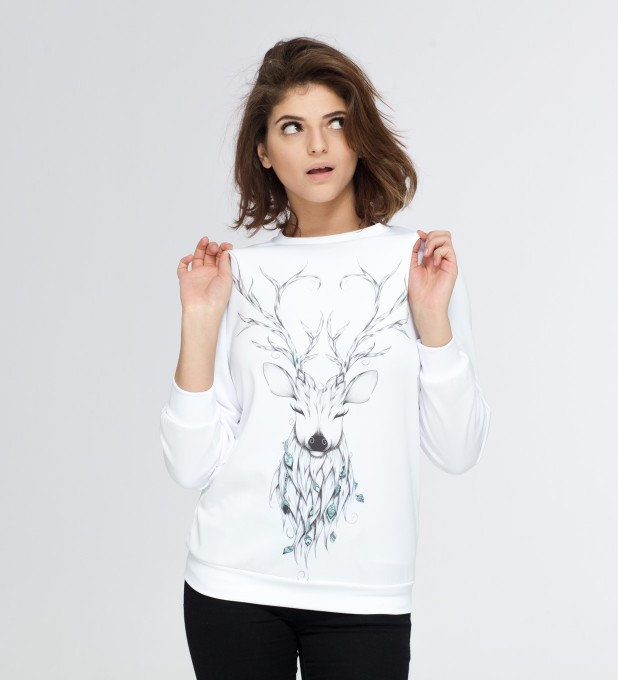 Deer sketch sweater Miniature 2