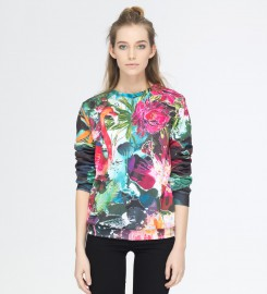 Mr. Gugu & Miss Go, Colorful Flamingo sweater Thumbnail $i