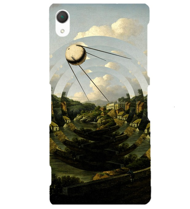 Sputnik City phone case Miniature 1