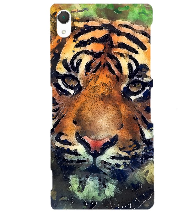 Aquarelle Tiger phone case Miniature 1