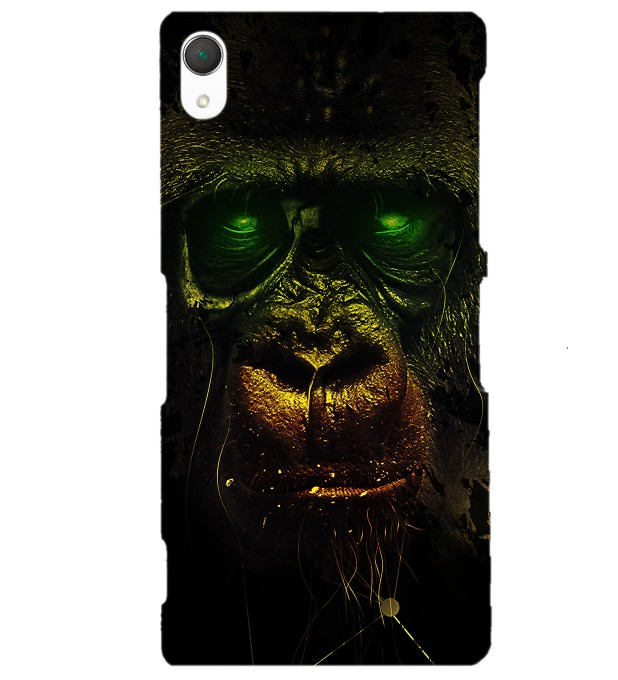 Dark Chimpanzee phone case Miniature 1