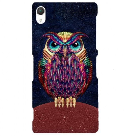 Space Owl phone case Thumbnail 1