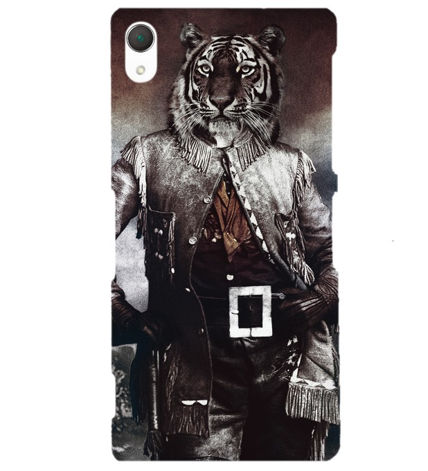 Colonel Tiger phone case Miniature 1