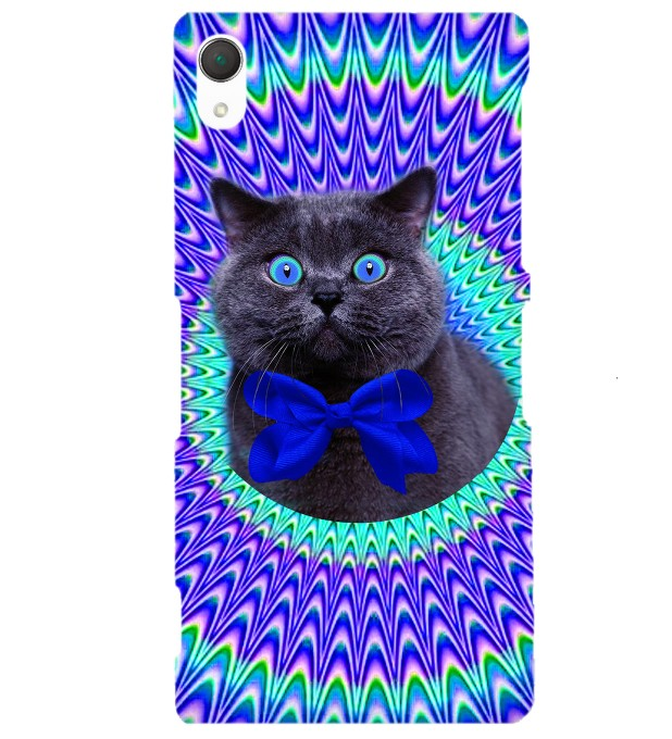 Crazy Cat phone case Miniature 1
