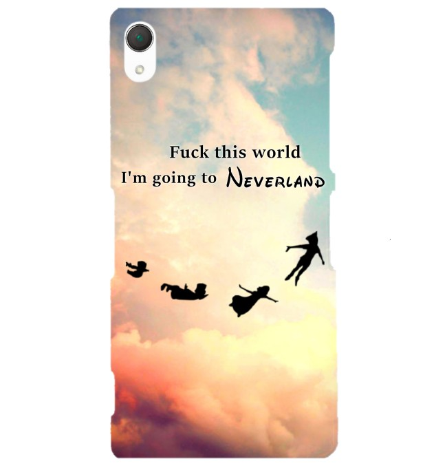 I'm going to neverland phone case Miniature 1