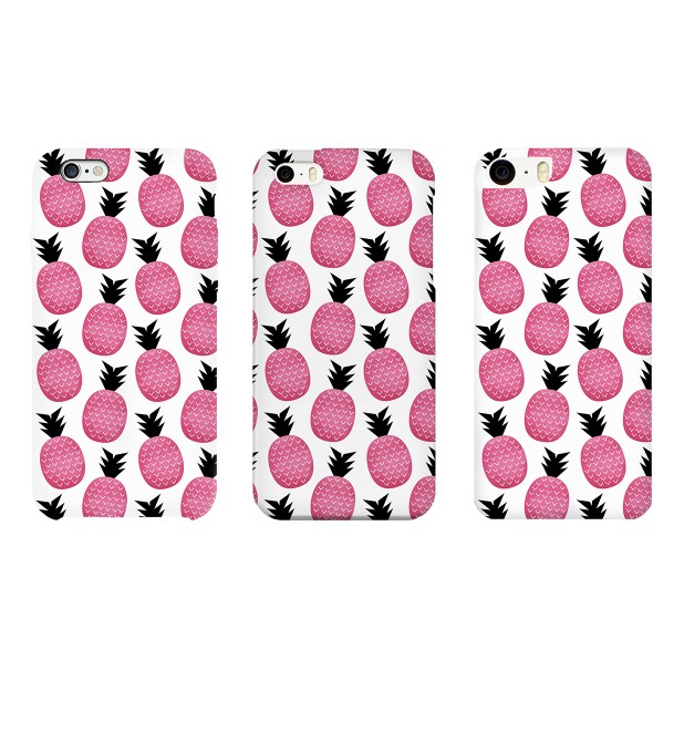 Pink pineapple phone case Thumbnail 2