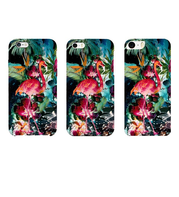 Colorful Flamingo phone case Thumbnail 2
