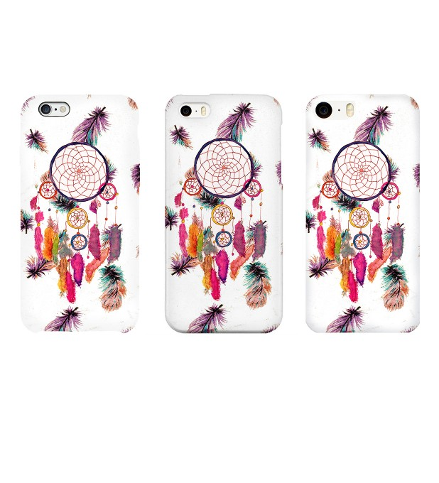 Feathers Dreamcatcher phone case Thumbnail 2