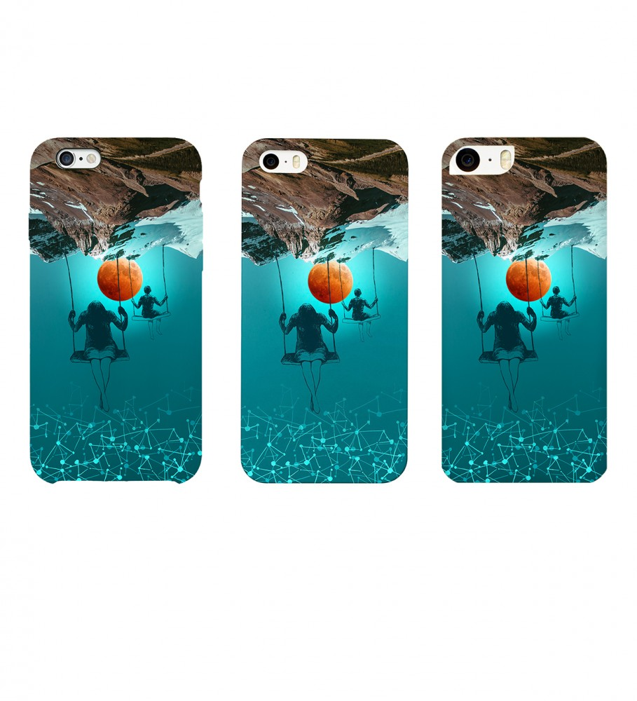 Mr. Gugu & Miss Go, Perspective phone case Фотография $i