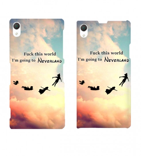 I'm going to neverland phone case Thumbnail 2