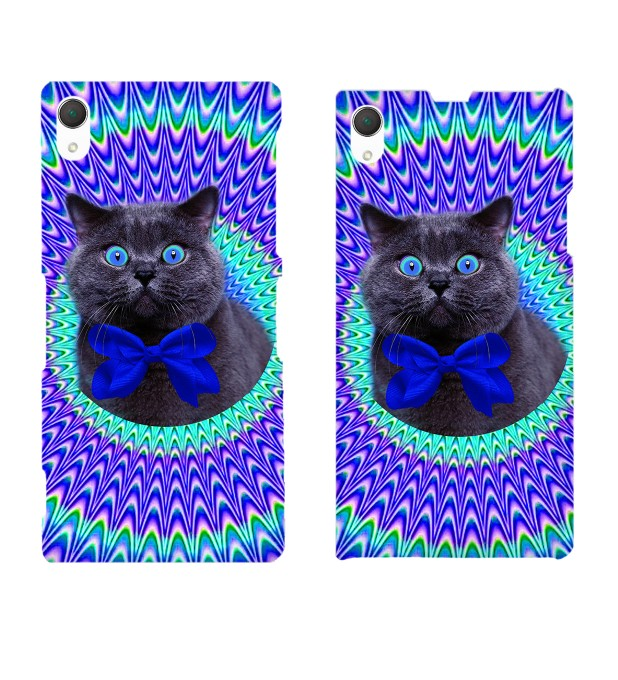Crazy Cat phone case Miniature 2