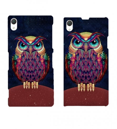 Space Owl phone case Thumbnail 2