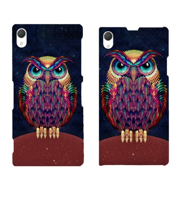 Space Owl phone case Miniatura 2