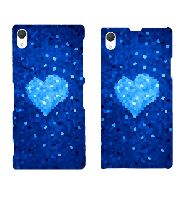 Glass Heart phone case Miniature 2