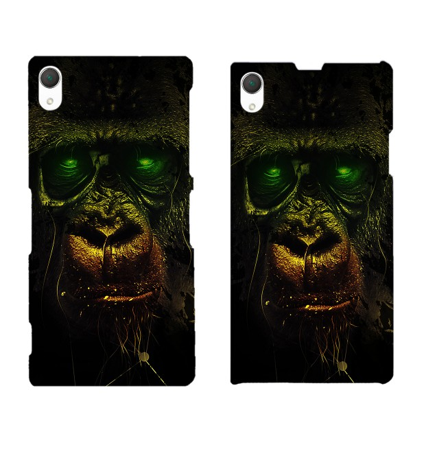 Dark Chimpanzee phone case Miniature 2