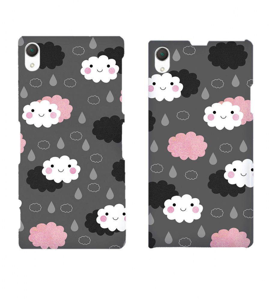 Mr. Gugu & Miss Go, Moody weather phone case Immagine $i