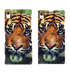 Mr. Gugu & Miss Go, Aquarelle Tiger phone case Miniatura $i