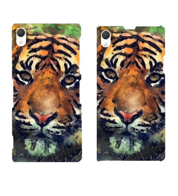 Aquarelle Tiger phone case Miniatura 2