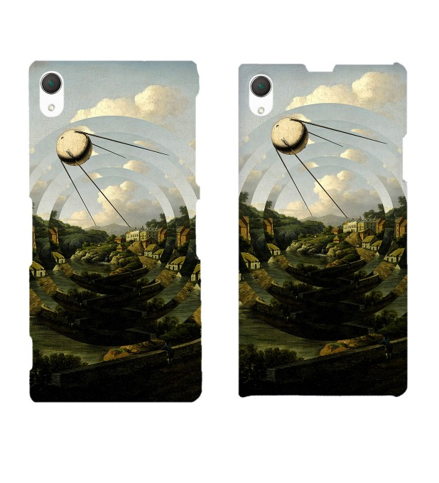 Sputnik City phone case Miniatura 2