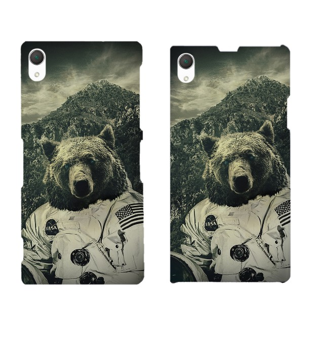 Nasa Bear phone case Miniature 2