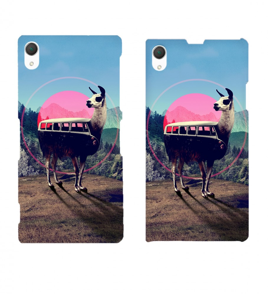 Mr. Gugu & Miss Go, Volkswagen Lama phone case Immagine $i