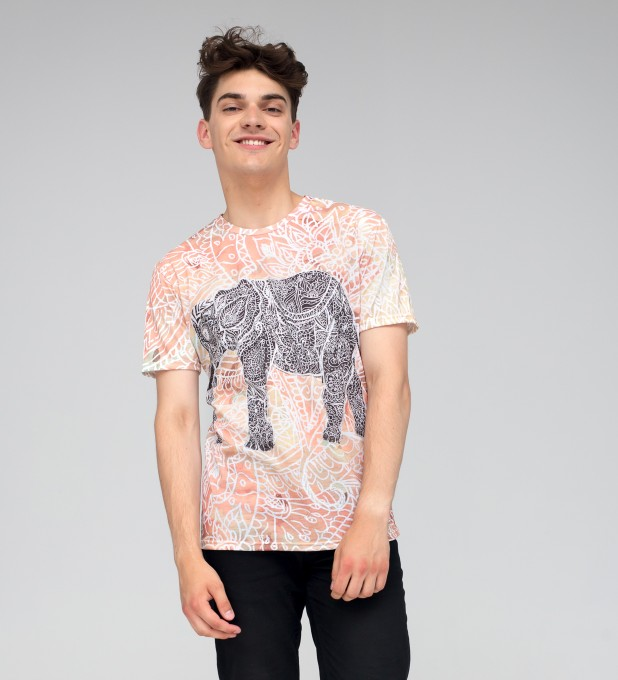 Indian Elephant t-shirt Thumbnail 2