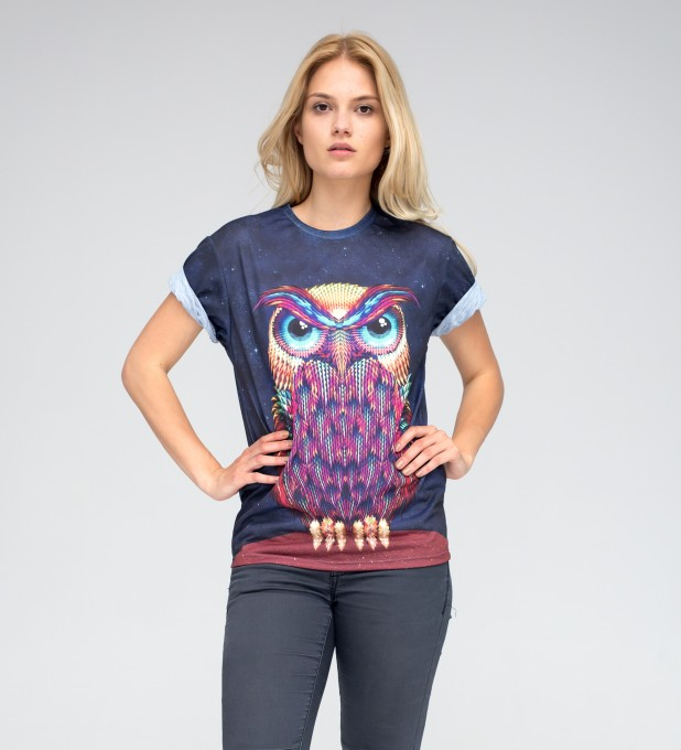 Space Owl t-shirt Thumbnail 2