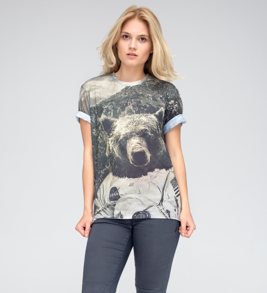 Mr. Gugu & Miss Go, Nasa Bear t-shirt Image $i
