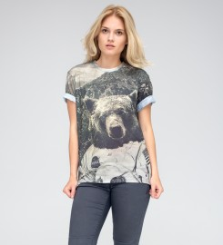 Mr. Gugu & Miss Go, Nasa Bear t-shirt Thumbnail $i