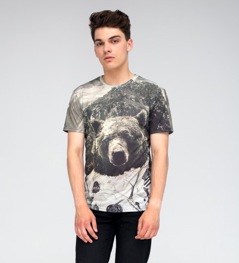 Nasa Bear t-shirt Thumbnail 2
